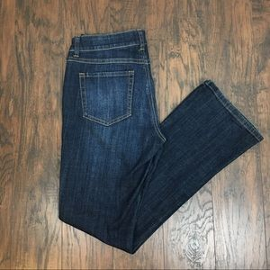 CAbi 967R Dark Wash Boot Cut Jeans 6.